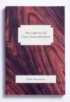 Description of casa Scabarozzi
