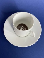 I saw Andy Warhol in my coffee cup…