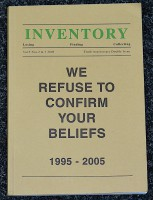 Inventory: Losing, Finding, Collecting - Vol. 5 Nos. 2 & 3 - 2005 - Tenth Anniversary Double Issue