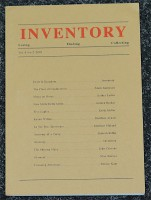 Inventory: Losing, Finding, Collecting - Vol. 4 No.2 - 2001