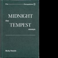 Midnight: The Tempest Essays