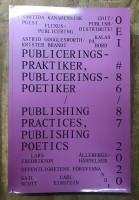 OEI #86–87: Publishing Practices, Publishing Poetics (and Contemporary Poetry from Canada)
