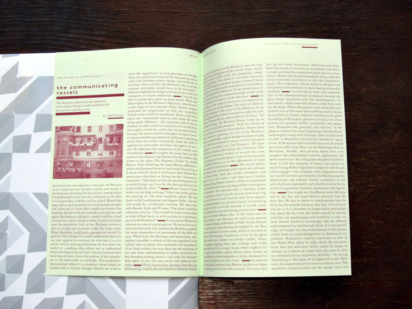 a chapter analysis of the bauhaus movement