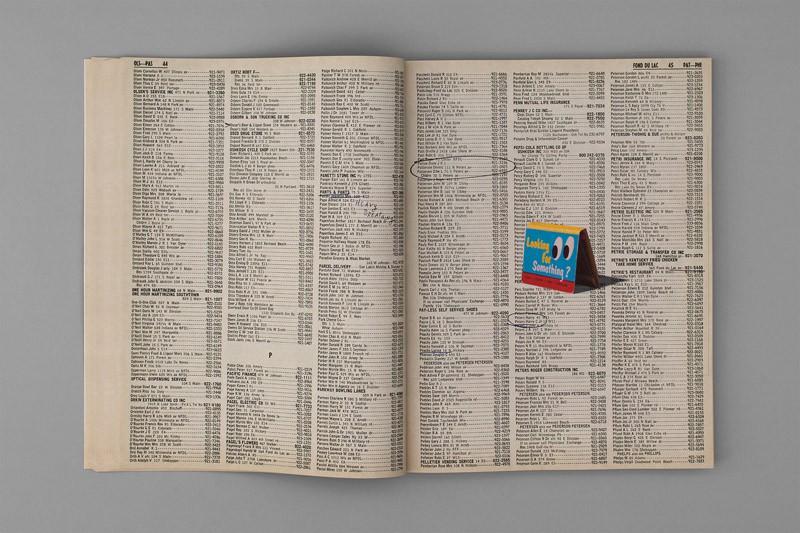 BOTTOM OF THE LAKE Fond Du Lac Telephone Directory Christian