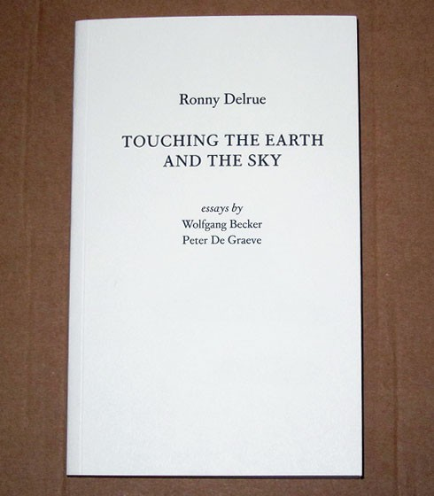 touching the earth and the sky ronny delrue mer paper kunsthalle touching the earth and the sky