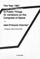 1967 / Jean-François Chevrier