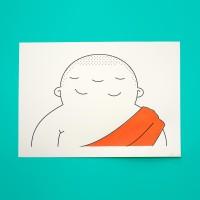 3 Eyed Buddha (Eyes open and Eyes closed)