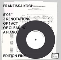 5'05'' 3 Renotations of 1 Act of Cleaning a Piano