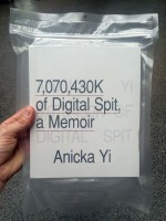 Anicka Yi: 7,070,430K of Digital Spit, A Memoir