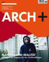 ARCH+ 203: Planung und Realität