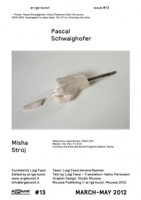 ar/ge kunst #13: Pascal Schwaighofer / Misha Stroj