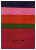 Arnulf Rainer : Proportionsordnungen 1953/54