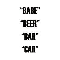 Dual Action - Babe Beer Bar Car (LP)