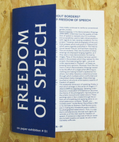 On Paper Exhibition #01: Freedom of Speech