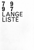 Lange Liste 79 - 97 (Second Edition)
