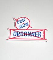 C'est selon, ORDONNER (badge)
