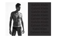 Calvin Klein. The Dyslexic Collection