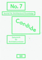 Candide - Journal for Architectural Knowledge #7