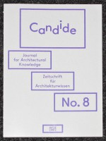 Candide - Journal for Architectural Knowledge #8