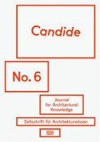 Candide - Journal for Architectural Knowledge #6