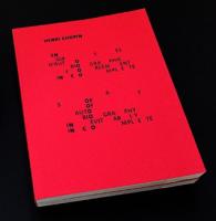 En Guises d'Autobiographie Forcément Incomplète | A Sort of Autobiography Inevitably Incomplete