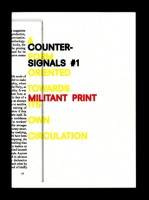 COUNTER-SIGNALS 1