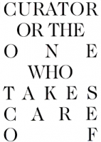 Curator or the one who takes care of