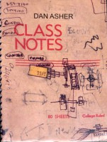 Dan Asher: pages from notebooks 1991-92