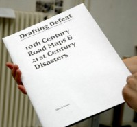 Drafting Defeat - 10th century Road Maps & 21th century disasters