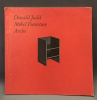 Donald Judd Möbel Furniture