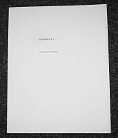 Doublure: catalogue d'exposition