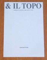 E Il Topo : Periodico D'Artista Anno XX n°15 2013