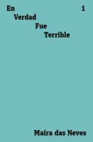 Coleção Manifesto vol. 1: En verdad fue terrible