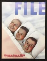 FILE Megazine, Vol. 6, Nos. 1&2, General Idea's 1984 and the 1968-1984 FILE Retrospective Issue
