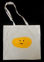 the happy potato (tote bag)