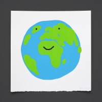 Happy Earth (Silkscreen)