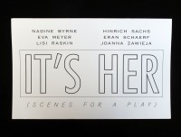 It's her (Scenes for a play)