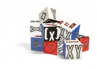 Lawrence Weiner 'XX XY' Blocks