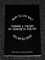 OEI #51 Mary Ellen Solt – Toward a theory of concrete poetry