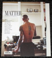 Matter Magazine #1. A Modern Journal For Men That Matter. Digital Good Times.