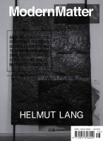 Modern Matter #16 (Cover by Helmut Lang)