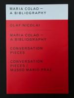Nicolai: Mario Colao / Conversation Pieces / Museo Mario Praz (special edition)