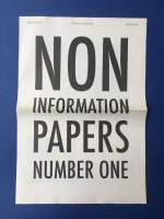 Non Information Papers : number one