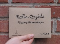 Notes to Girls: 9 Letters That Were Not To You