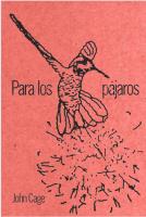 Para los pájaros