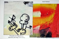 Emil Holmer: Parasites & Diagramme: selected paintings 2010 - 2013