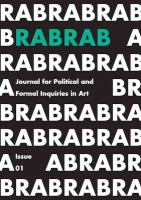 RABRAB JOURNAL ISSUE#01