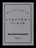 Zick Zack Tattoo Flash Vol.1. Die Zwickmühle
