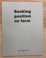 Seeking Position on Farm: Letters to Cathy Anderjack 1976