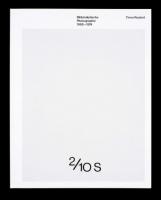 Bildanalytische Photographie 1968–1974